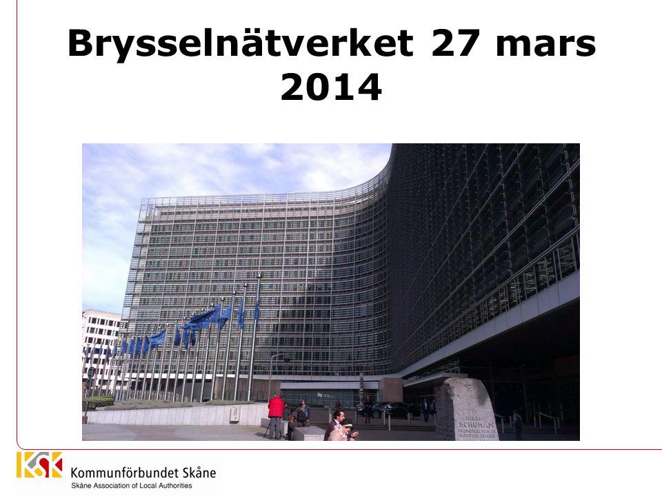 Brysselnätverket 27 mars 2014