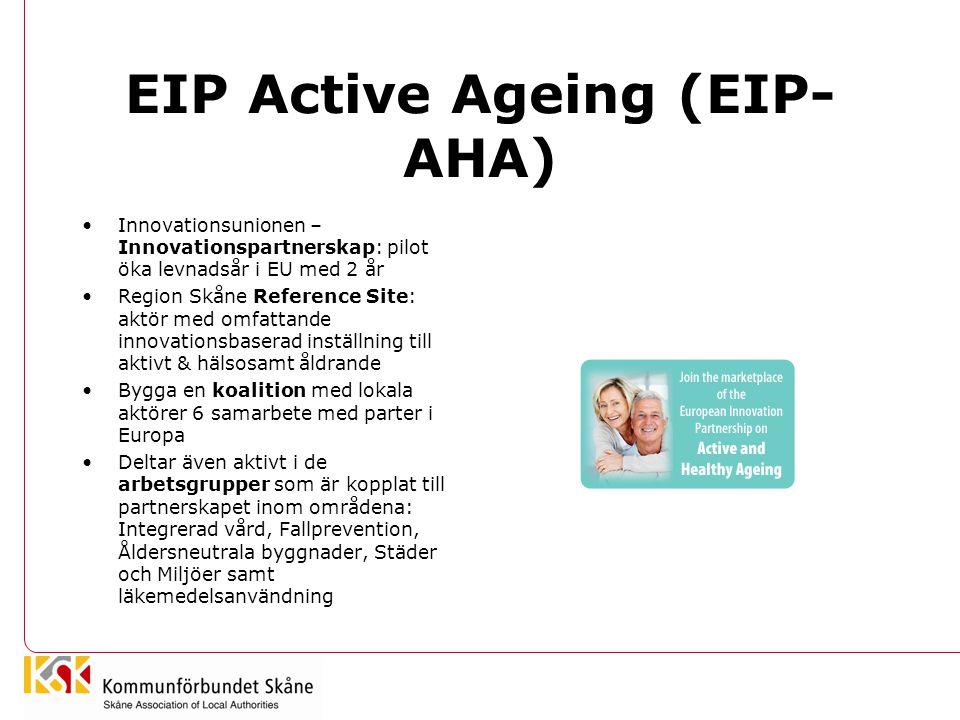 EIP Active Ageing (EIP-AHA)