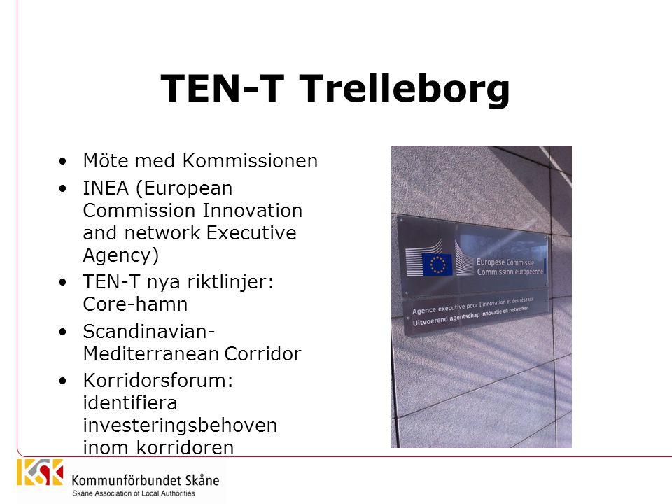 TEN-T Trelleborg Möte med Kommissionen