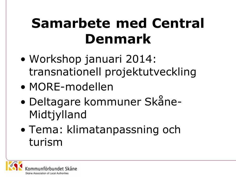 Samarbete med Central Denmark