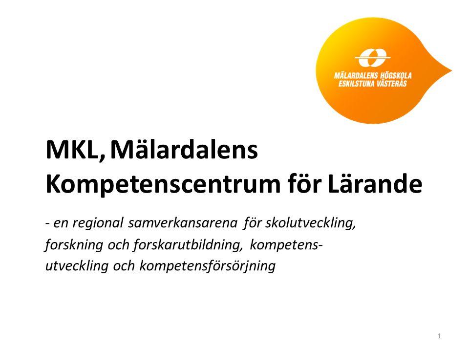 MKL, Mälardalens Kompetenscentrum för Lärande