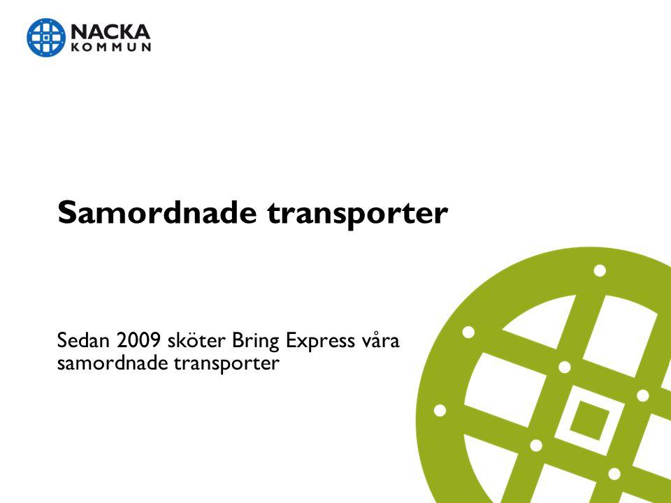 Samordnade transporter