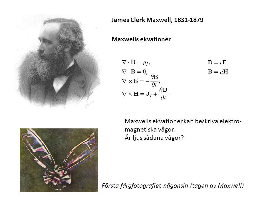 Första färgfotografiet någonsin (tagen av Maxwell)