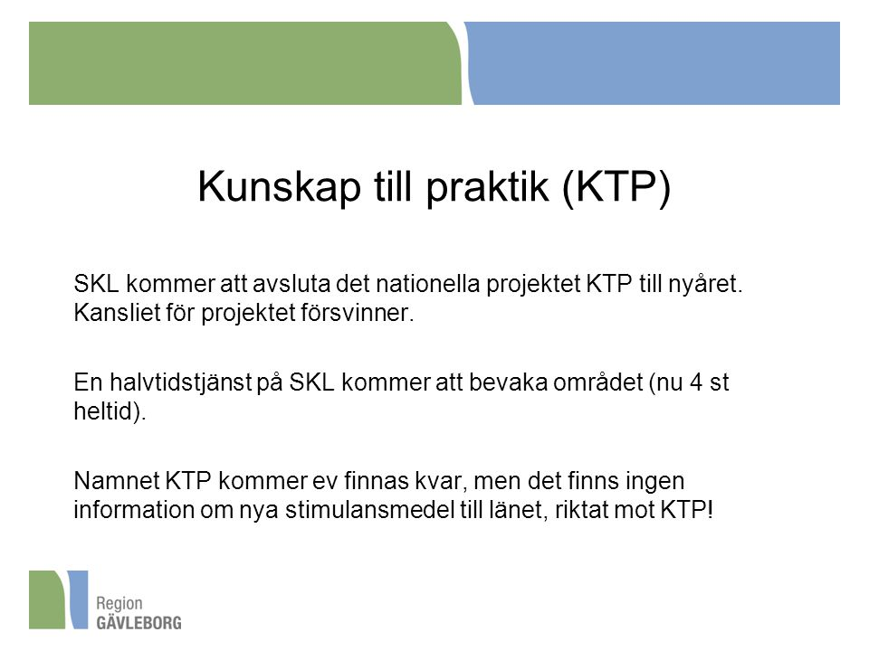 Kunskap till praktik (KTP)