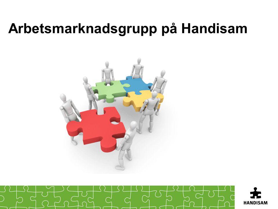 Arbetsmarknadsgrupp på Handisam