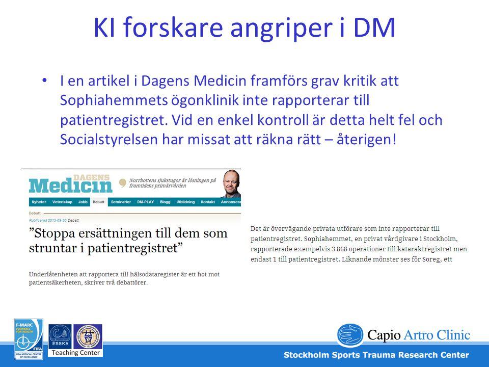 KI forskare angriper i DM
