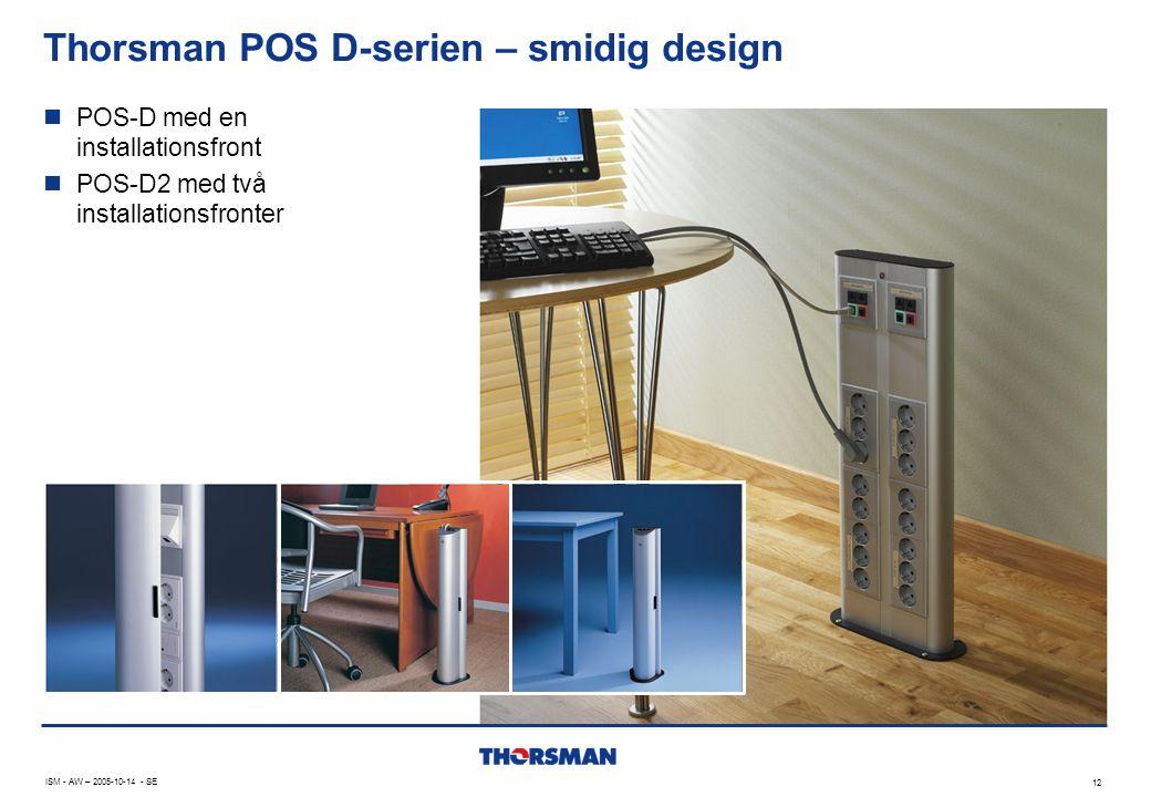 Thorsman POS D-serien – smidig design