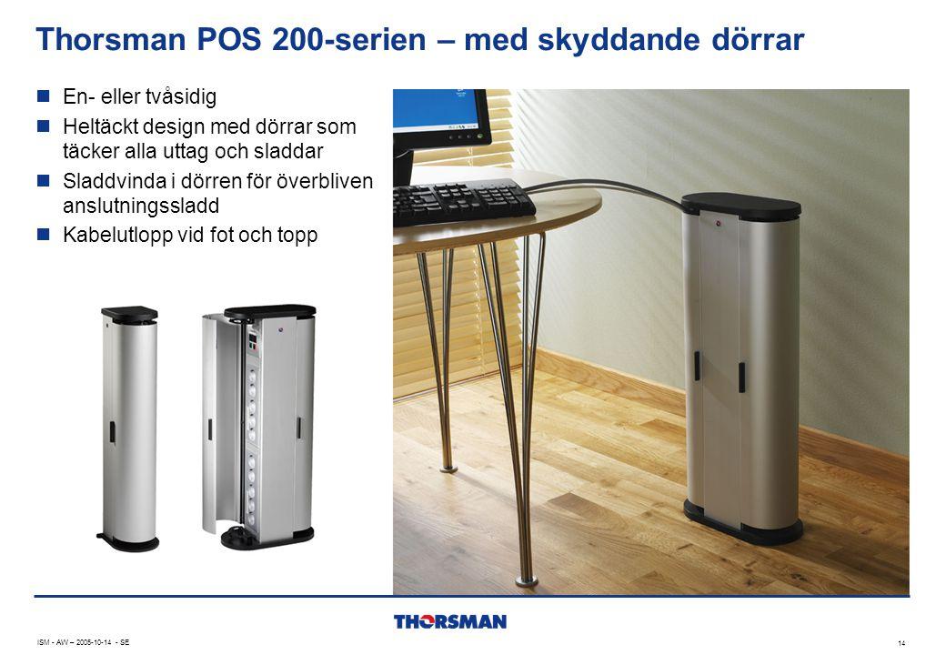 Thorsman POS 200-serien – med skyddande dörrar