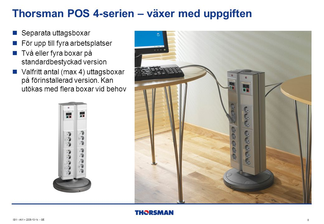 Thorsman POS 4-serien – växer med uppgiften
