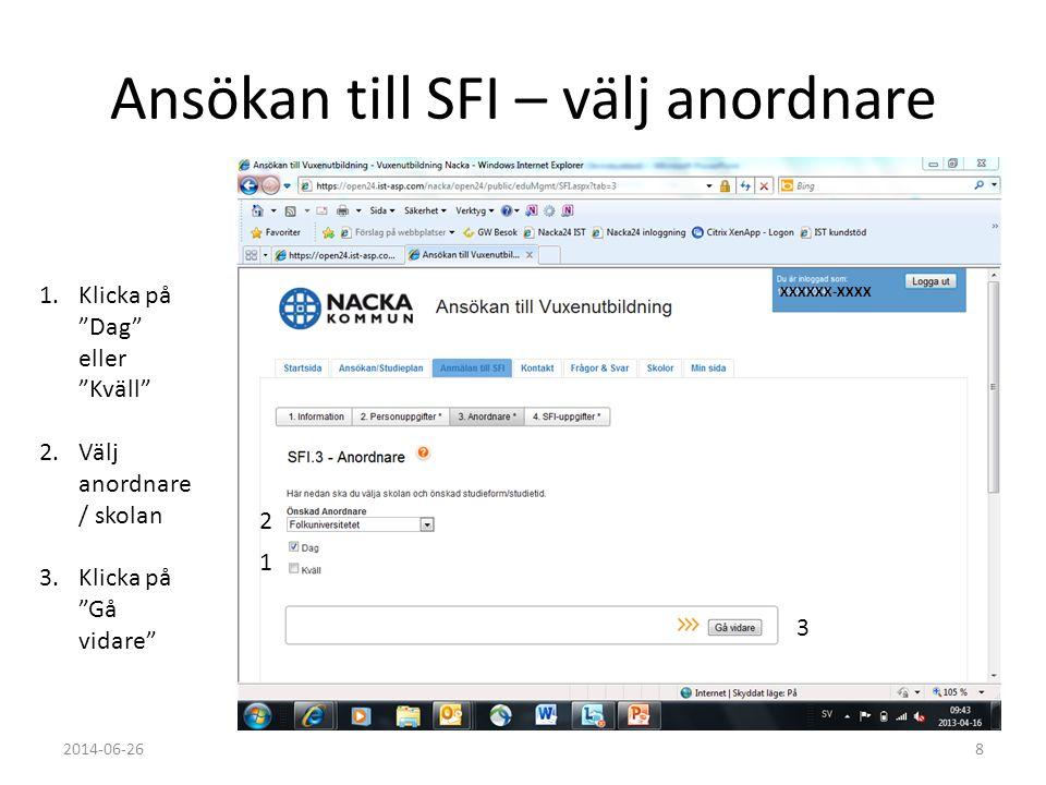 Ansökan till SFI – välj anordnare