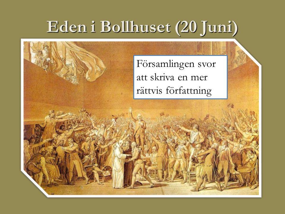 Eden i Bollhuset (20 Juni)