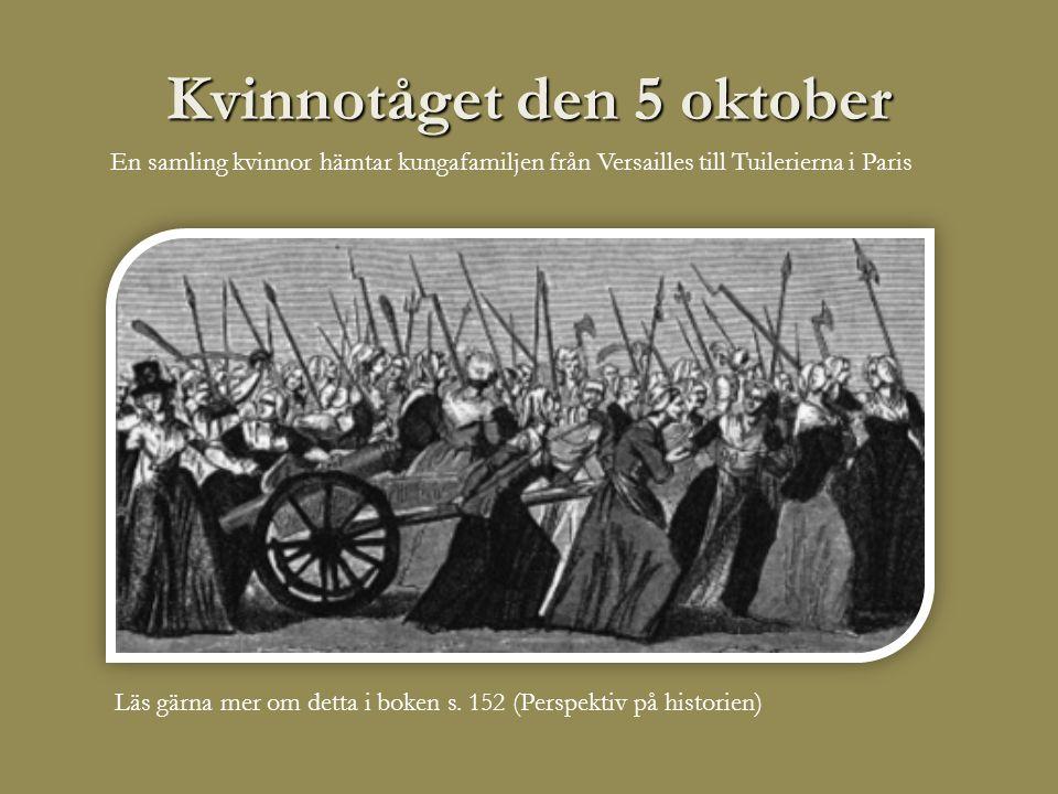 Kvinnotåget den 5 oktober