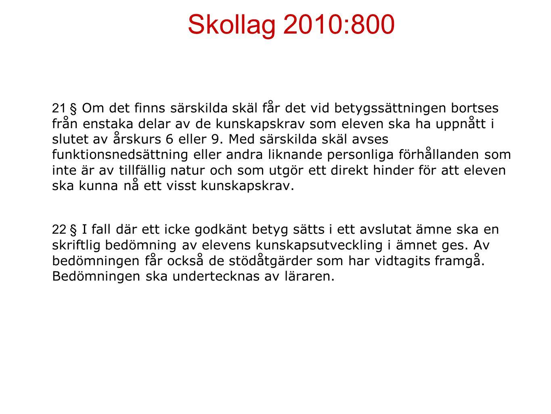 Skollag 2010:800