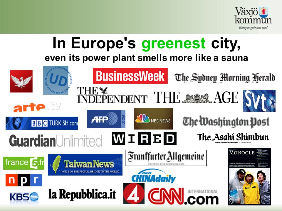 In Europe s greenest city,