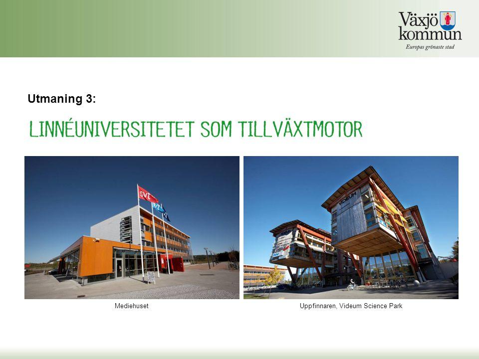 Uppfinnaren, Videum Science Park