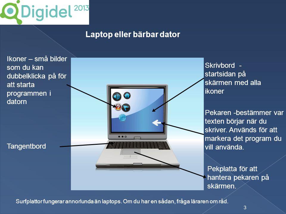Laptop eller bärbar dator