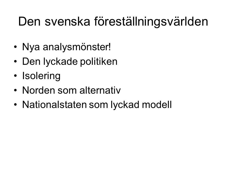 Den svenska föreställningsvärlden