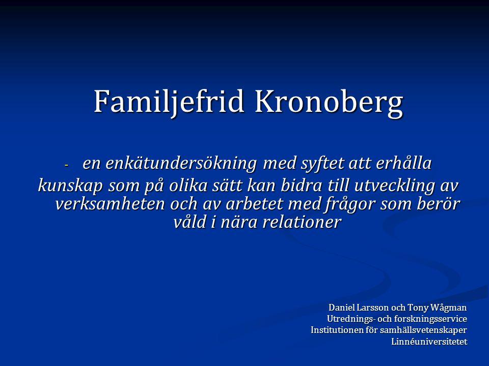 Familjefrid Kronoberg