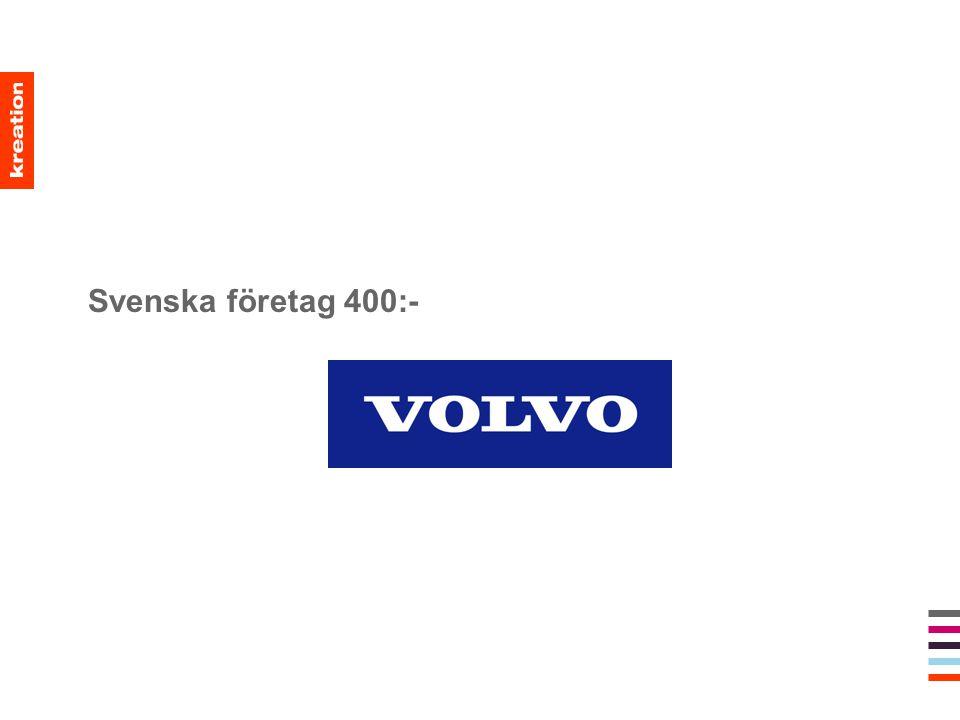 Svenska företag 400:-