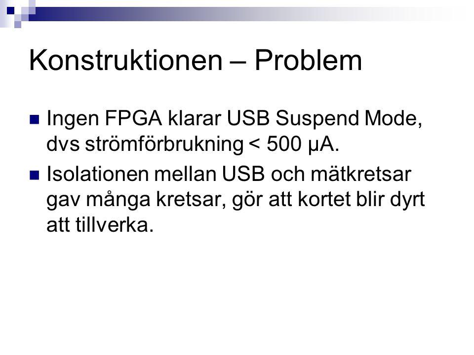 Konstruktionen – Problem