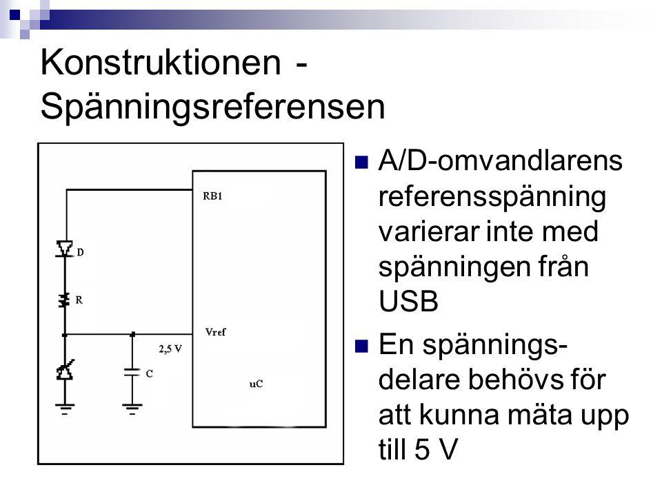 Konstruktionen - Spänningsreferensen