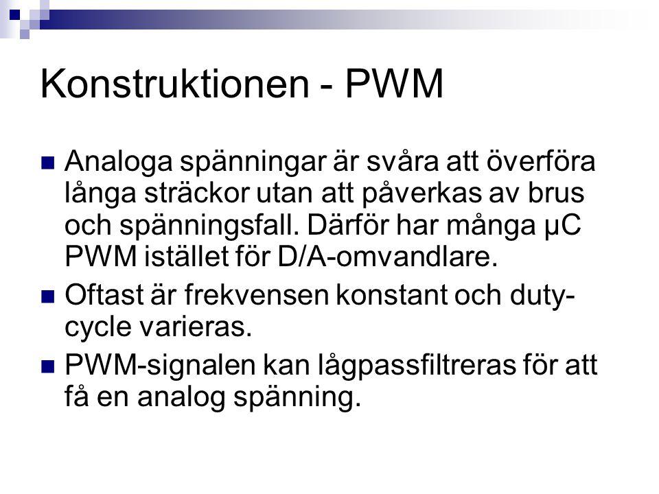 Konstruktionen - PWM