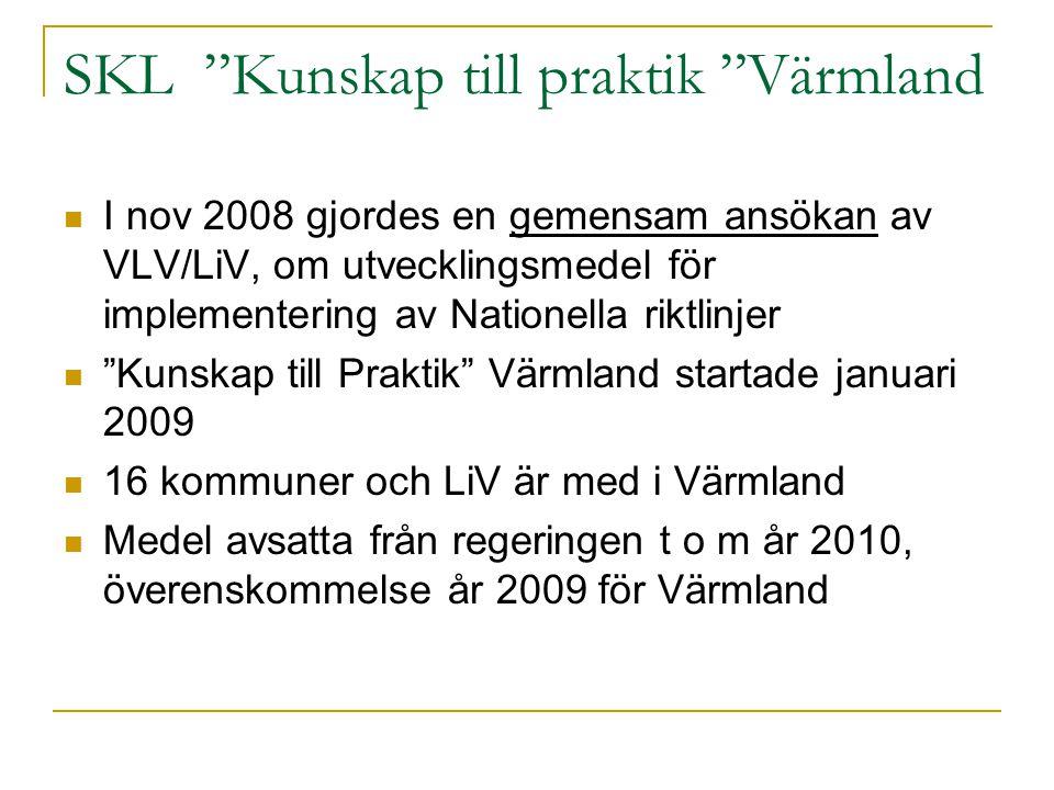 SKL Kunskap till praktik Värmland