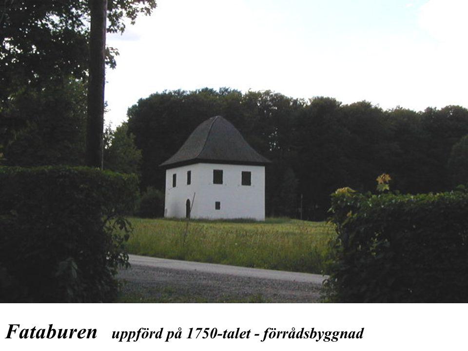 Fataburen uppförd på 1750-talet - förrådsbyggnad