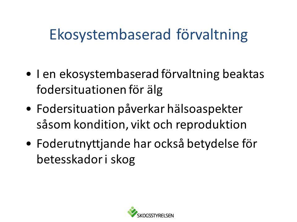 Ekosystembaserad förvaltning