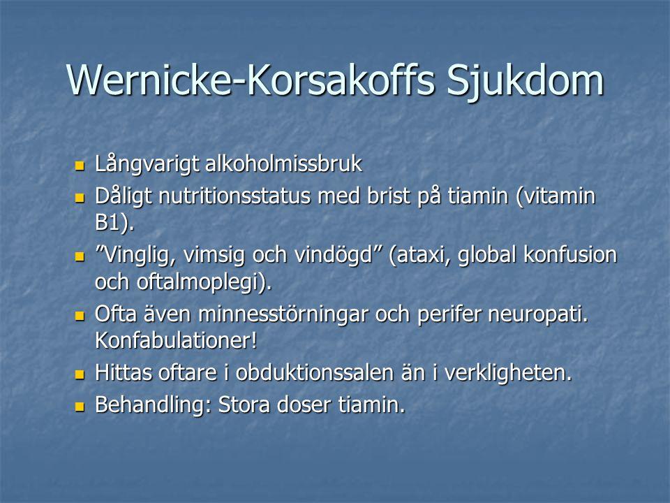 Wernicke-Korsakoffs Sjukdom