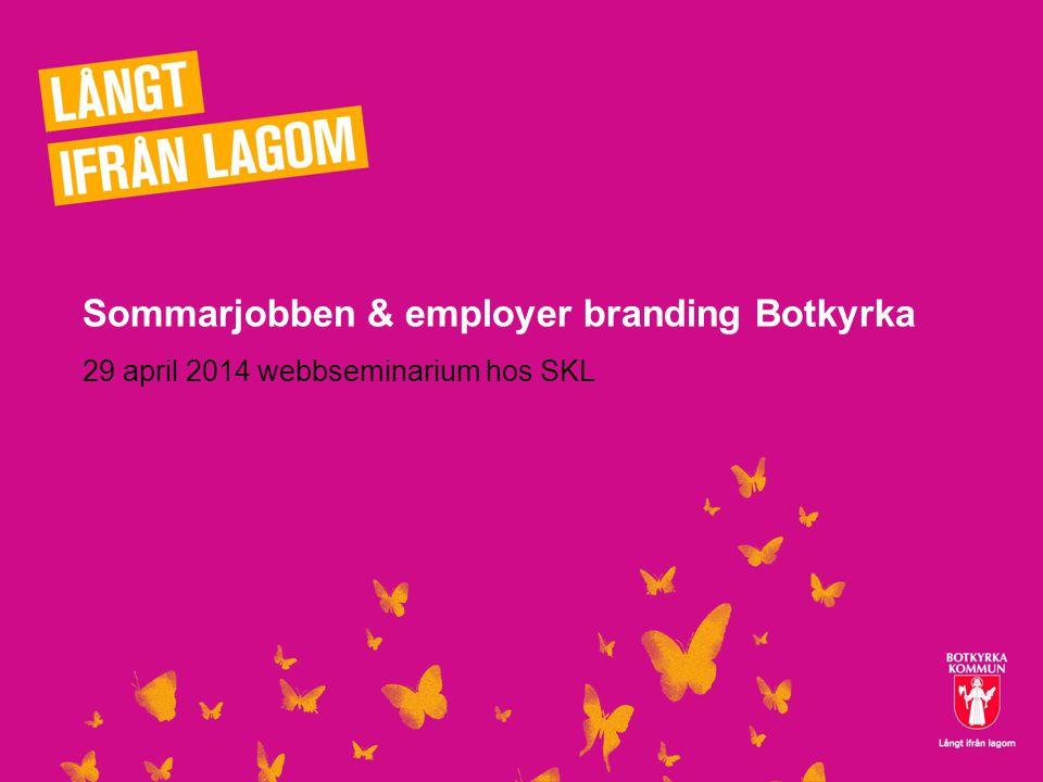 Sommarjobben & employer branding Botkyrka