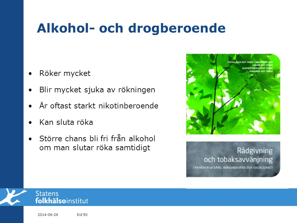 Alkohol- och drogberoende
