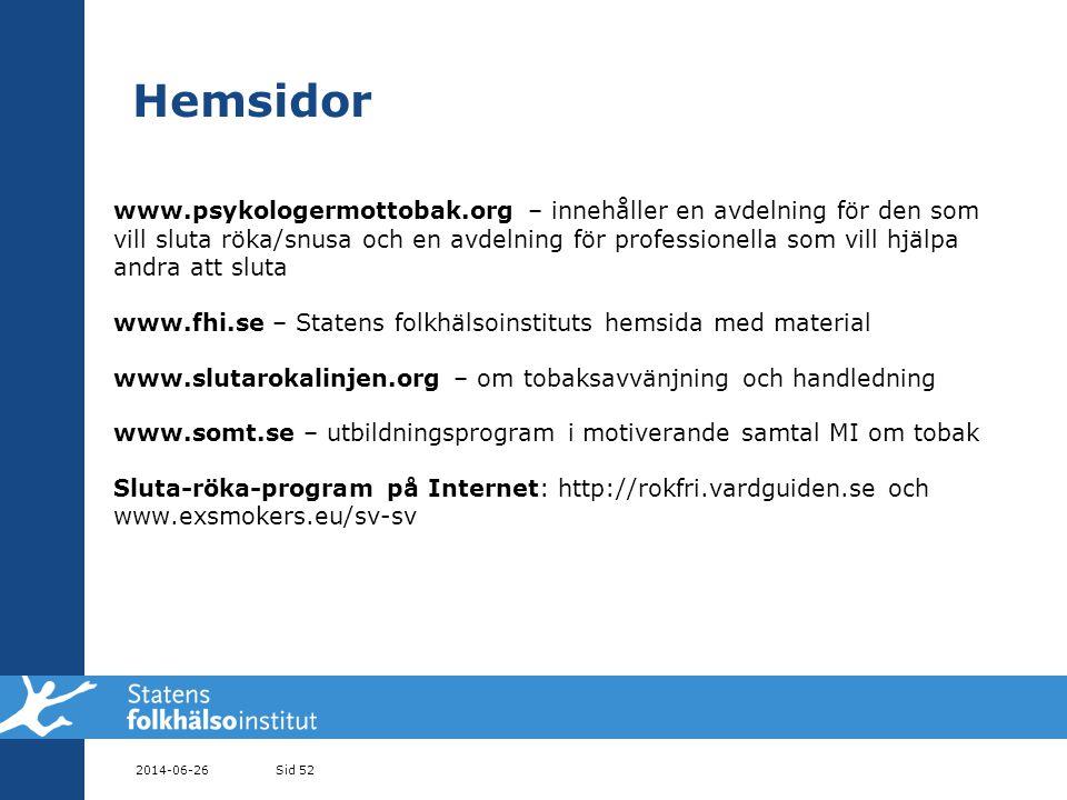 Hemsidor