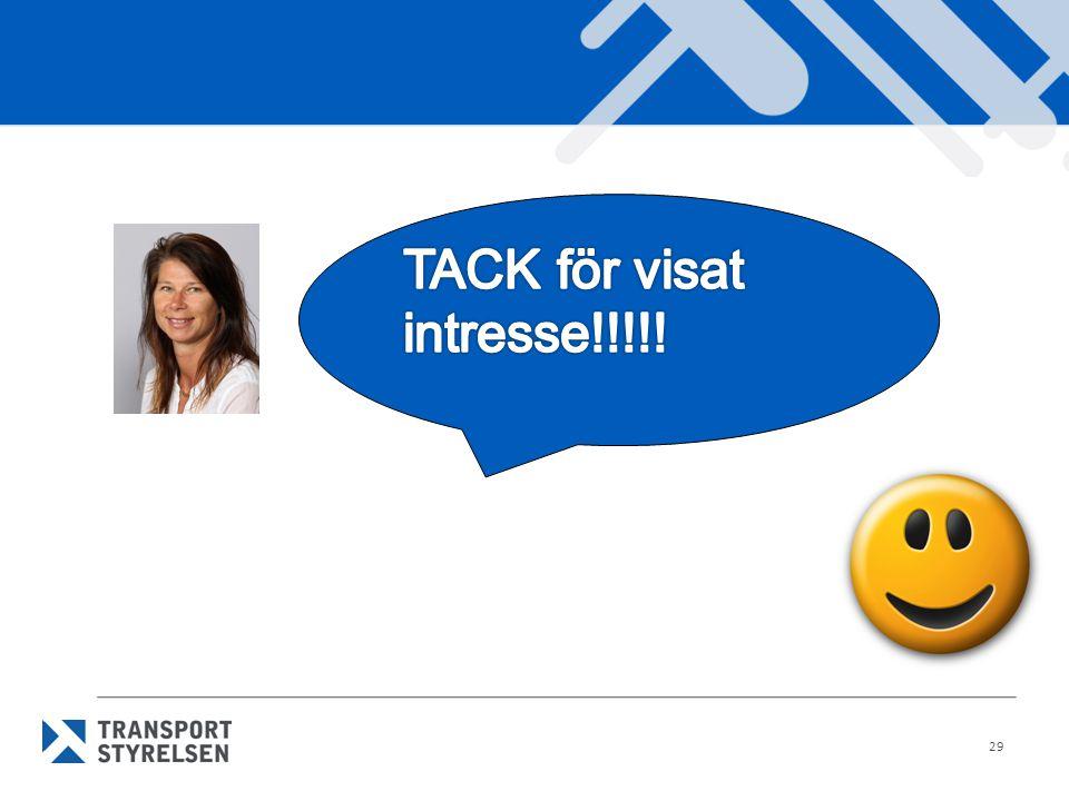 TACK för visat intresse!!!!!