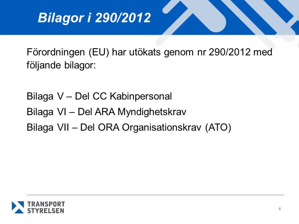 Bilagor i 290/2012