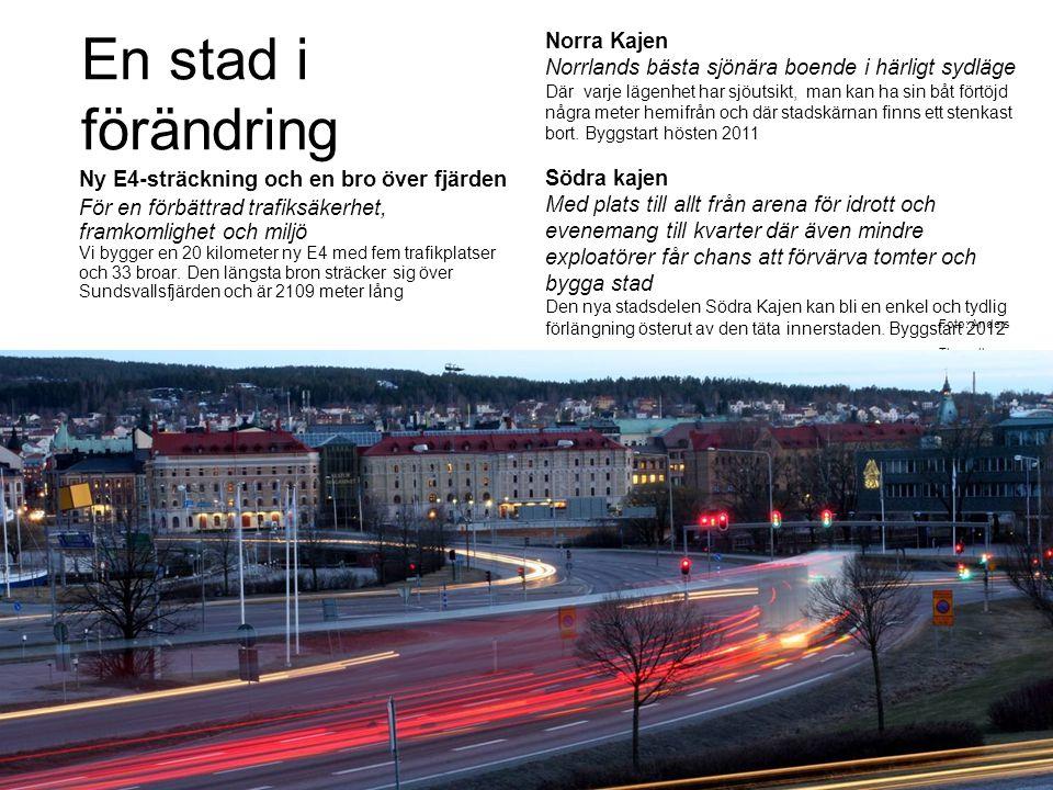 En stad i förändring Norra Kajen