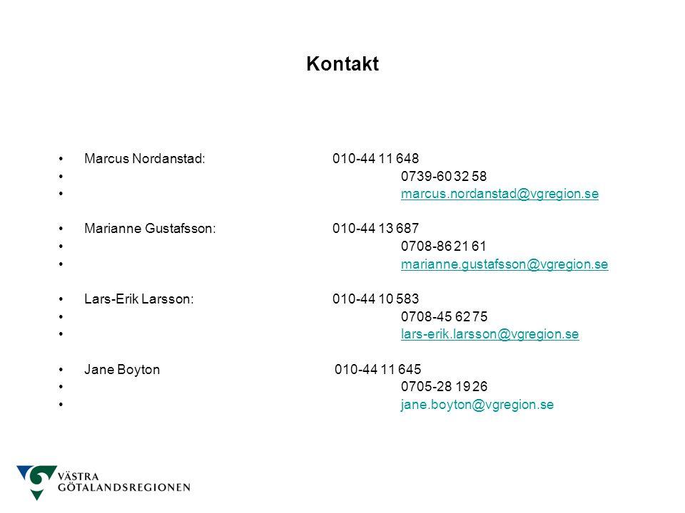 Kontakt Marcus Nordanstad: 010-44 11 648 0739-60 32 58