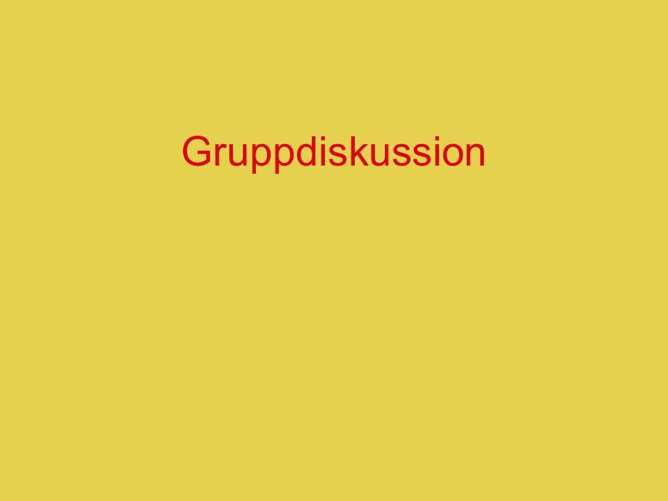 Gruppdiskussion