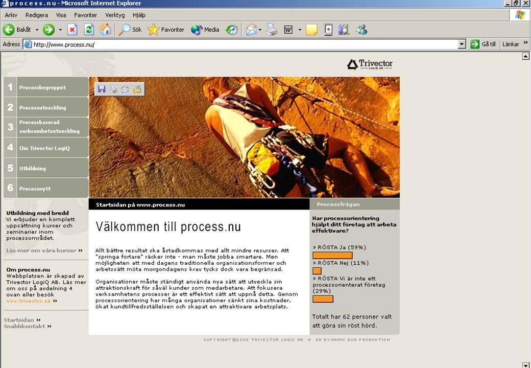 www.process.nu © Trivector LogiQ AB – Får ej kopieras