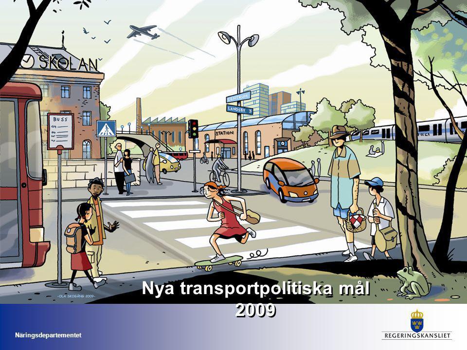 Nya transportpolitiska mål 2009