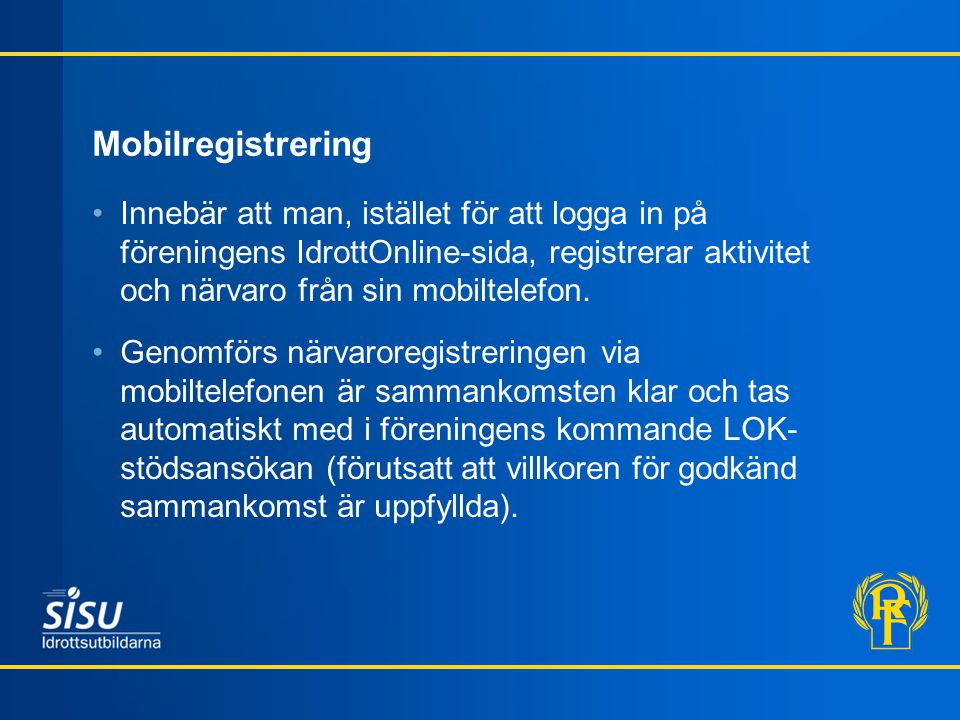 Mobilregistrering