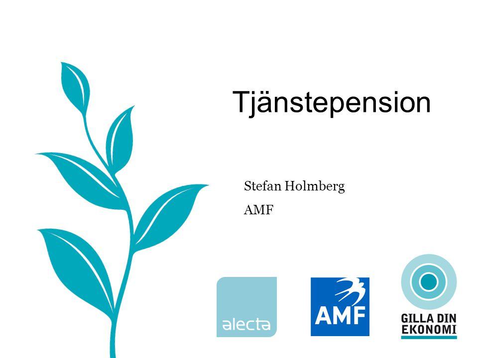 Tjänstepension Stefan Holmberg AMF
