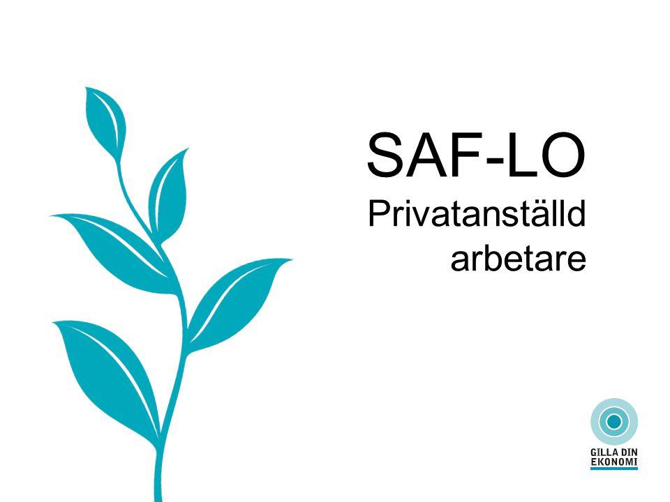 SAF-LO Privatanställd arbetare