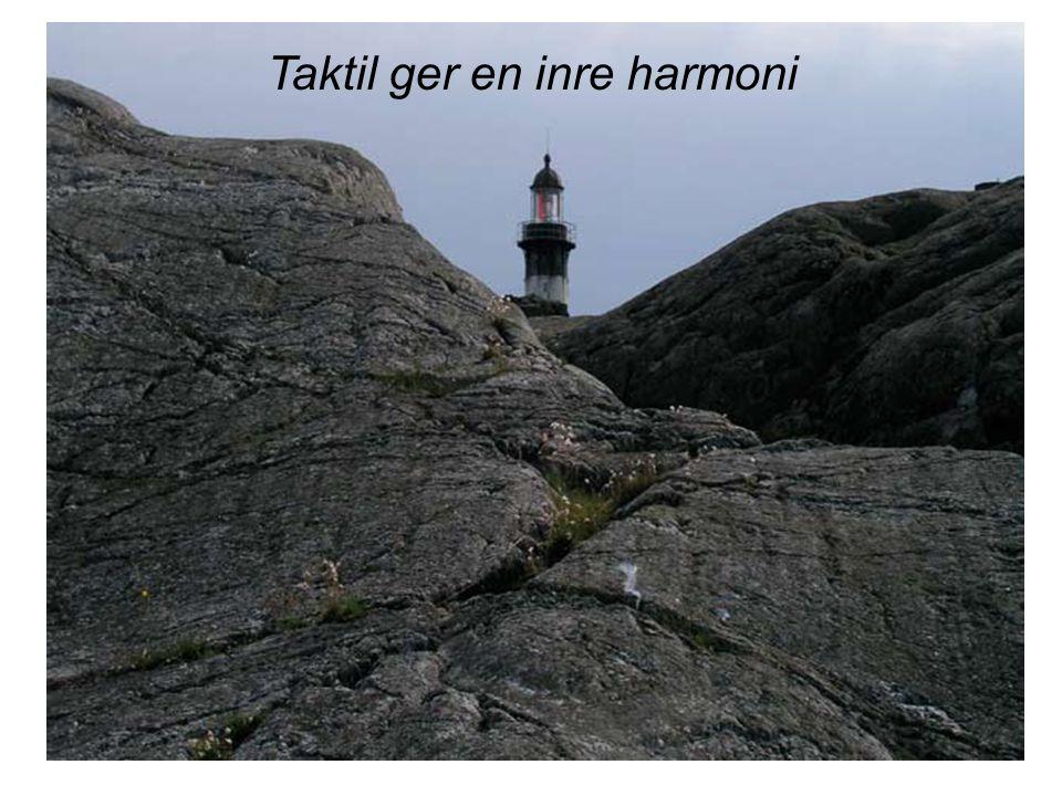 Taktil ger en inre harmoni
