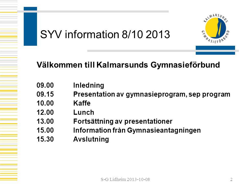 Välkommen till Kalmarsunds Gymnasieförbund