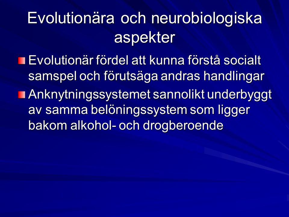 Evolutionära och neurobiologiska aspekter