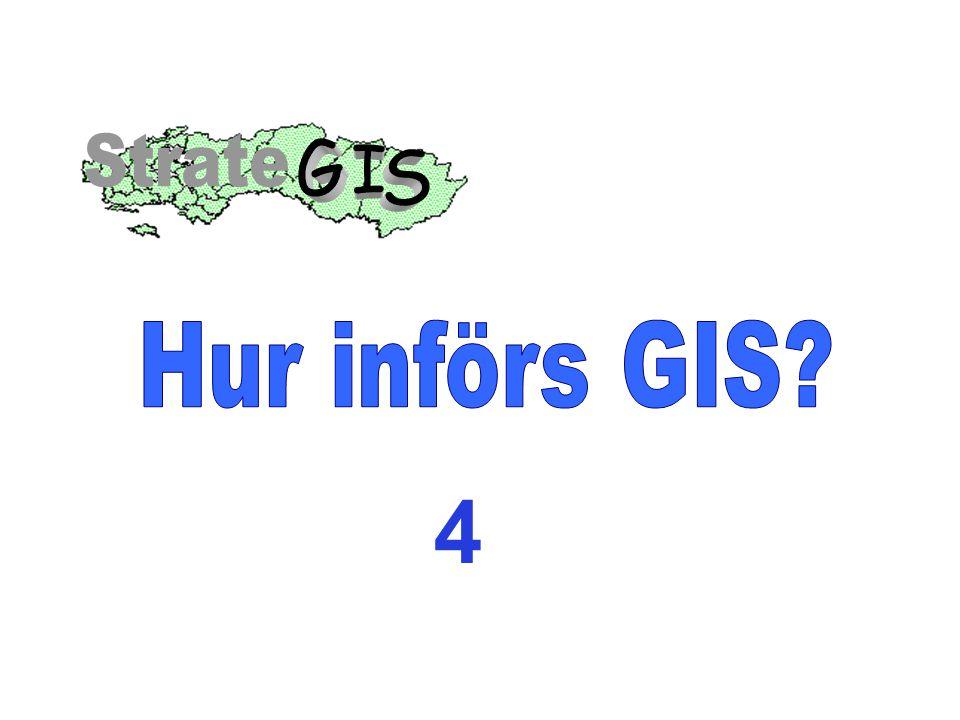 G I S Strate Hur införs GIS 4