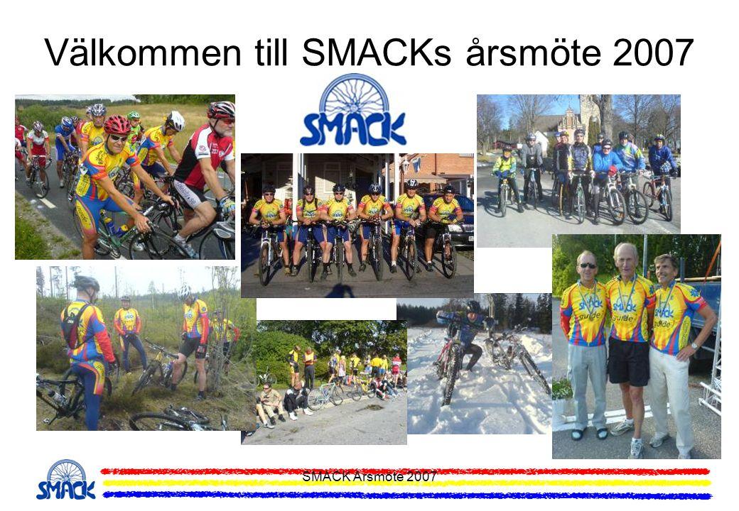 Välkommen till SMACKs årsmöte 2007