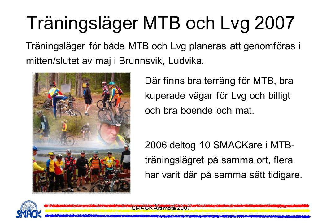 Träningsläger MTB och Lvg 2007
