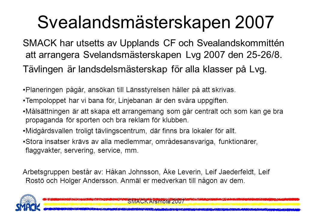 Svealandsmästerskapen 2007